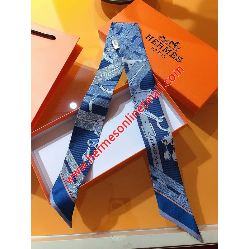 Hermes Mors A Jouets Chemise Twilly In Blue