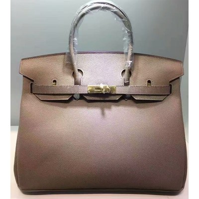 Hermes Birkin Bag Epsom Leather Gold Hardware In Cherry