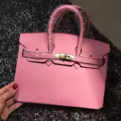 Hermes Birkin Bag Epsom Leather Gold Hardware In Pink