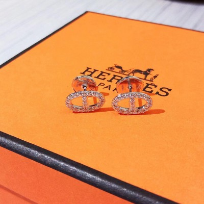 Hermes Chaine D'Ancre Earrings