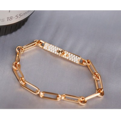 Hermes Ever Chaine D'Ancre Bracelet In Gold